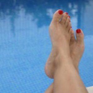 Braziliaanse voet massage verzorging